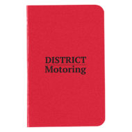 Cannon Notebook-Red Custom Logo