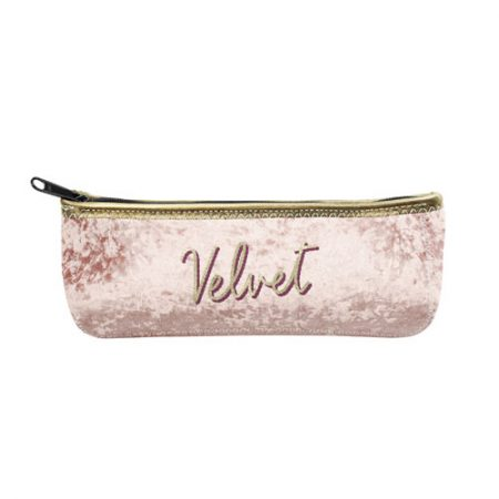 Customizable Canoe Velvet Pouch