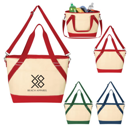 Promotional Products - Canvas Cooler Tote Bag