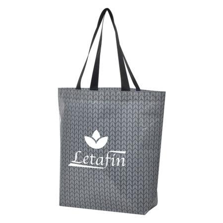 Custom Logo Caprice Laminated Non-Woven Tote Bag
