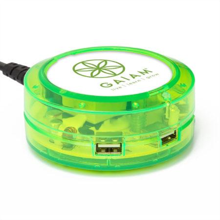 ChargeHub X3-3-Port USB Charging Station with Custom Logo Imprint