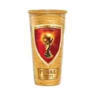 Promotional Cups - Clear Plastic 21oz Stadium Cups Full Color Imprint