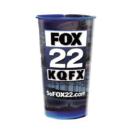 Promotional Cups - Full Color Clear Plastic 44oz Stadium Cups
