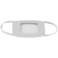 Promotional Custom Logo Clear Window Face Mask