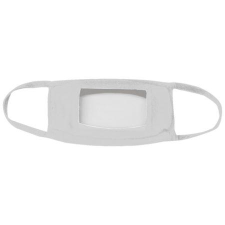 Promotional Custom Logo Clear Window Face Mask