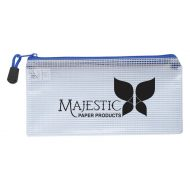 Promotional Custom Logo Clear Zippered Pencil Pouch