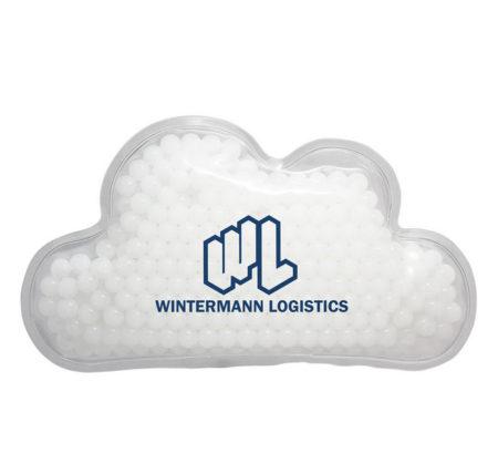 Promotional Custom Logo Cloud Hot & Cold Pack Aqua Pearls
