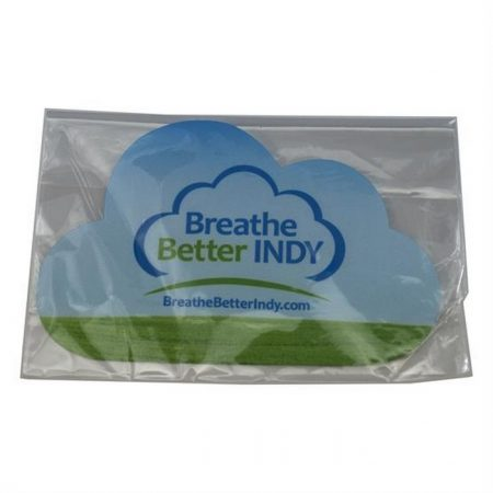 Promotional Custom Logo Cloud Shaped Microfiber Cleaning Cloth