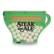 Promotional Custom Logo Coffee Cup Shaped Pick and Mint