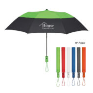 Promotional Logo Printed Color Top Automatic Open Umbrella 46 Inch Arc