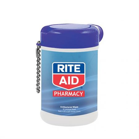 Custom Logo Promotional Container Antibacterial Wet Wipes