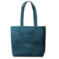 Custom logo Corduroy Daily Grind Tote Bag Dark-Green