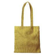 Custom logo Corduroy Main Squeeze Tote Bag Yellow