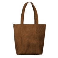Custom logo Corduroy Twinkles Tote Bag Brown