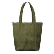 Custom logo Corduroy Twinkles Tote Bag Olive