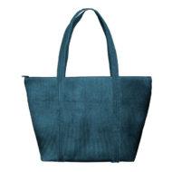 Custom logo Corduroy Weekender Tote Bag Dark-Green