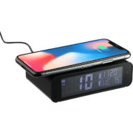 Custom Logo Cusp Wireless Charging Clock