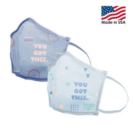 Reusable Face Mask with Logo Washable