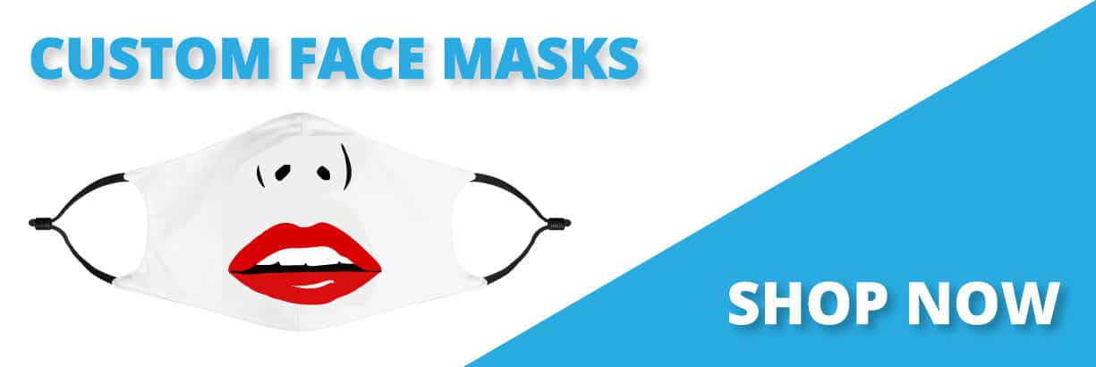 Buy Face Mask with Logo Personalized Wholesale