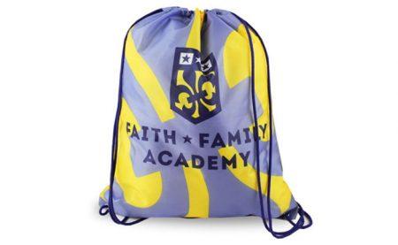 Custom Full Color Promotional Drawstring Backpack
