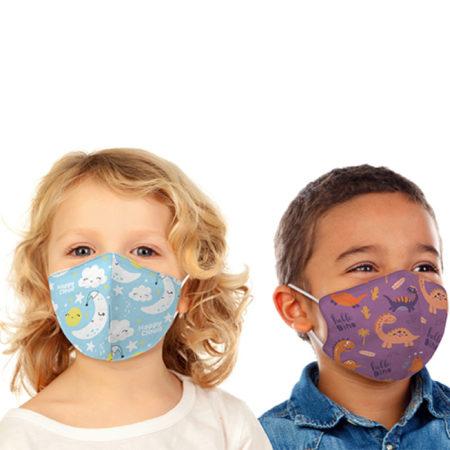 Custom Kids Size Face Mask with Logo