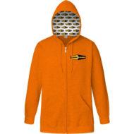Promotional Custom Logo Custom Hood Classic Full Zip