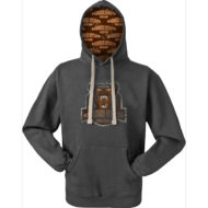 Promotional Custom Logo Custom Hood Ultimate Heavyweight Pullover