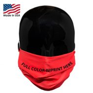 Microfiber Face Mask with Logo Customizable