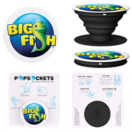 Promotional Products - Custom PopSockets® Phone Grip & Stand with Full Color Imprint