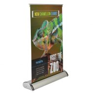Promotional Custom Logo Custom Table Top Stand Banner 11.50x17.50