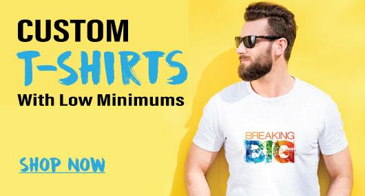 Custom Printed Promotional Tshirts