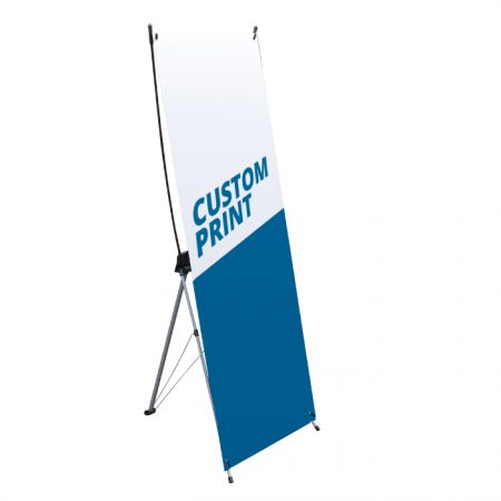 Custom Printed Banner Stand X-Back