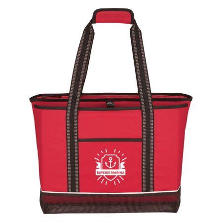 Promotional Custom Logo Daytona Cooler Tote Bag