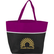 Promotional Products - Imprinted Tote - Deluxe YaYa Non-Woven Shopper Tote Bag
