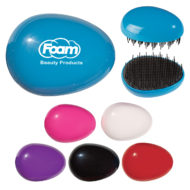 Promotional Products - Promotional Hairbrush - Custom Imprinted Hairbrush - Logo Travel Hairbrush - Travel Detangling Hairbrush