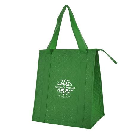 Dimples Cooler Tote Bag Custom Logo