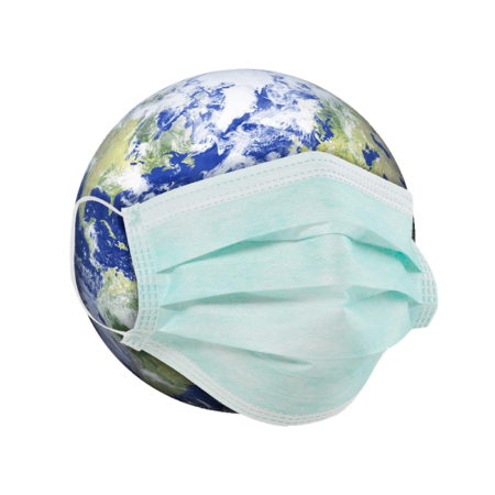Promotional Custom Logo Disposable Face Mask