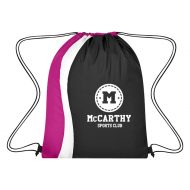 Custom Logo Promotional Diversion Drawstring Sports Bag