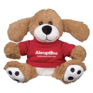 Promotional Custom Logo Dominic Stuffed Plush Dog 6inch