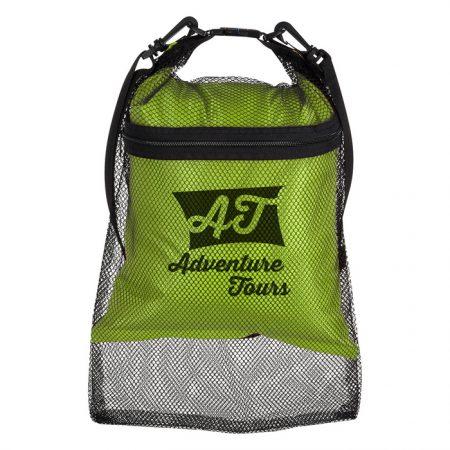 Promotional Custom Logo Double Duty Mesh & Dry Bag