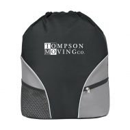 Promotional Custom Logo Drawstring Backpack