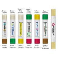 Promotional Custom Logo Dual Flavor Beeswax Lip Balm Moisturizer