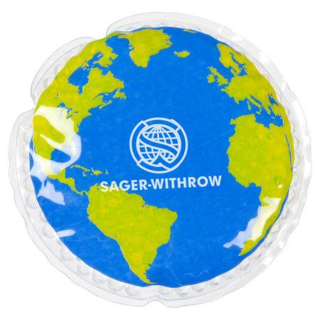 Promotional Custom Logo Earth Hot/Cold Pack Aqua Pearls