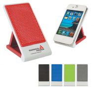Custom Logo Promotional Easel Phone Stand with Non Slip Pad