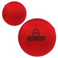 Custom Imprinted Fabric Stress Reliever Ball