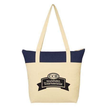 Promotional Custom Logo Farmers Market Canvas Tote Bag