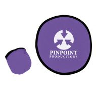 Custom Logo Promotional Flexible 10 Inch Frisbee with Matching Pouch