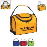 Promotional Products - Custom Imprinted Lunch Coolers - Logo Coolers and Bags - Flip Flap Insulated Lunch Bag
