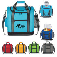 Promotional Products - Flip Flap Lunch Cooler Bag