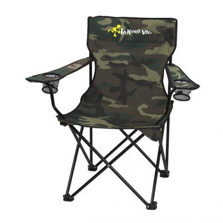 Custom Logo Folding Chair with Carrying Bag